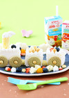離乳食 機関車ケーキ