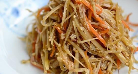 美味しい きんぴら ごぼう レシピ 基本のきんぴらごぼう 作り方・レシピ
