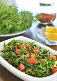 トルコ料理☆フレッシュタイムのサラダ