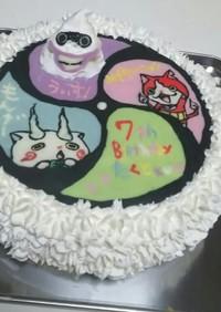 妖怪ウォッチ キャラケーキ