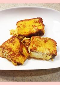 カステラで作る世界一簡単フレンチトースト