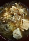 豆腐と海苔の佃煮の優しいスープ☆