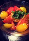 簡単☆夏のさっぱりタレ チヂミ、トマト等