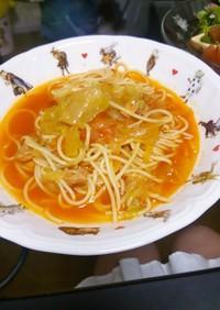 簡単☆トマトのスープパスタ