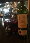 絶品!簡単!赤ワインのサングリア 桃