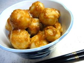 里芋のごま味噌バター