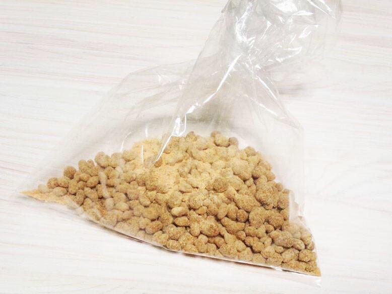 大麦(もち麦・押し麦)のきな粉まぶし