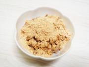 大麦(もち麦・押し麦)の胡麻&きなこ掛けの写真