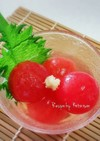 ひんやり♡簡単!トマトのだし浸し