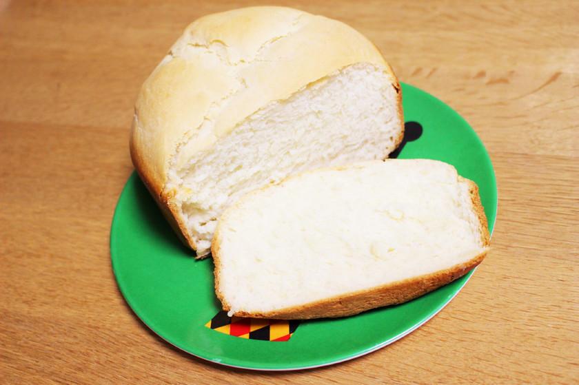 【HBで簡単】米粉と強力粉が半々の食パン
