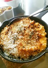 豆腐タルタルソースのサーモン(鮭)焼き