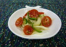 セロリとトマトのマリネ