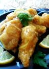 爽やかレモンソースの鶏ウィング