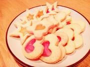 ステンドグラスクッキー ♡の写真