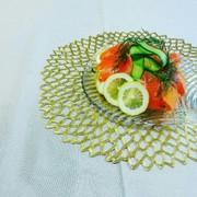 【美レシピ】ズッキーニdeフリルサラダの写真