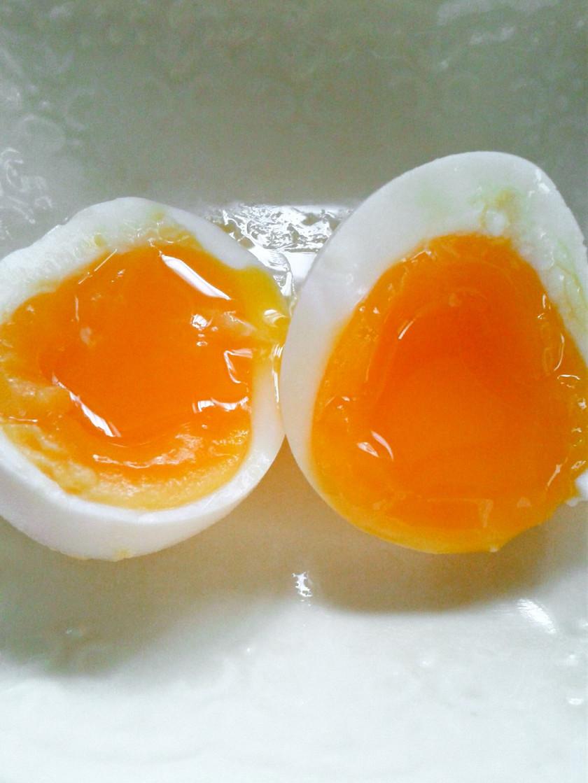コンビニより美味!簡単塩味半熟ゆで卵
