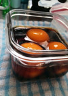 冷凍卵のしょうゆ漬け