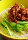 作り置き肉味噌で五分で冷やし担々麺