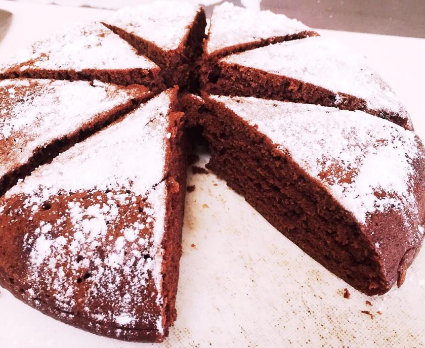 牛乳いらずチョコいらず!炊飯器ケーキ