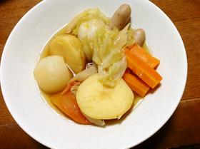 夏野菜たっぷり☆和風ポトフ