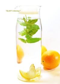 ✿ミント・レモン水✿