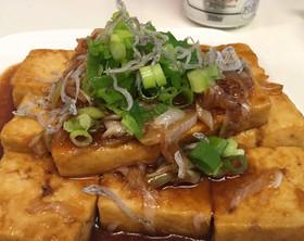栄養満点!スタミナこってり豆腐ステーキ♪