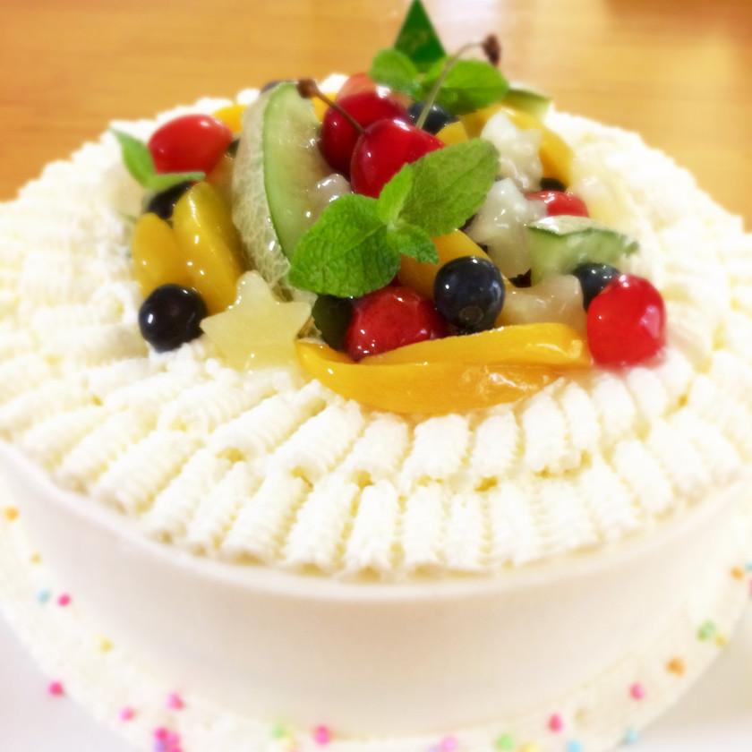デコレーションケーキのナッペ♡