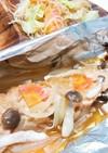 鮭のホイル焼き ~味噌だれ~