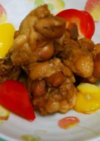 鶏手羽元のメープルと黒酢のさっぱり煮