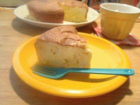 ★簡単美味しい!スフレチーズケーキ★