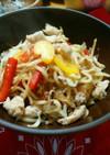 春雨とちゃんぽん麺DEフィリピン焼きそば