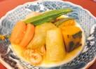 ☆干しエビ&鶏団子&夏野菜☆冷んやり煮物