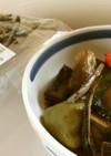 茄子とピーマン、南瓜の煮物