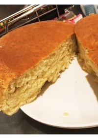 炊飯器で簡単 バナナケーキ