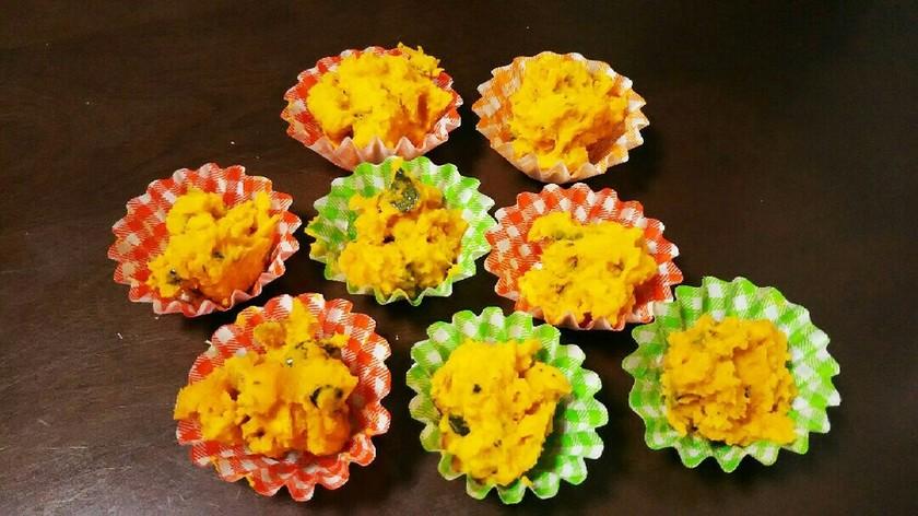 簡単☆お弁当にも☆かぼちゃサラダ