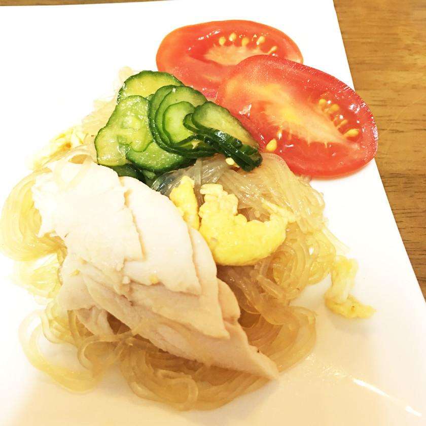 ■ 鶏ハムアレンジ☆春雨サラダ ■