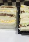 残りものサンドイッチ☆トンカツ/鶏ハム