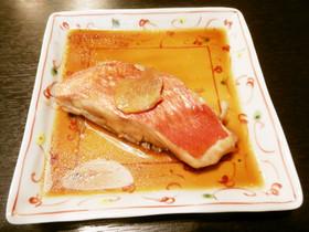 甘めが美味しい金目鯛の煮つけ