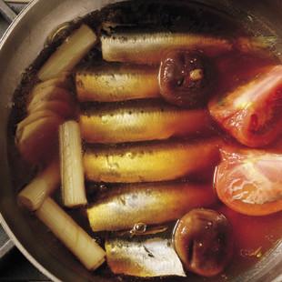 いわしの酢煮