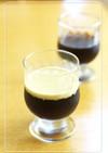 ミルクソースでまろやか♡コーヒーゼリー