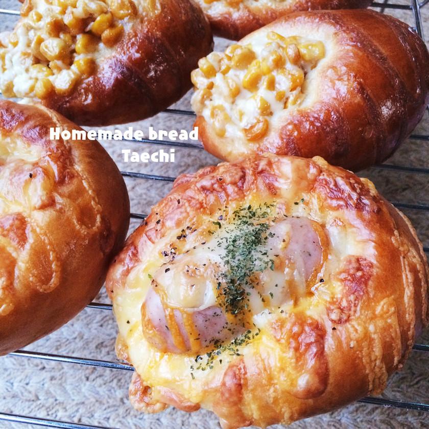 馬蹄成形 お家パン屋さん 惣菜パン