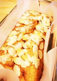 おから入り☆バナナのパウンドケーキ