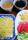 冷やし中華風つけ麺!超簡単タレアレンジ!