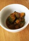 ご飯に合う!かぼちゃのピリ辛炒め煮