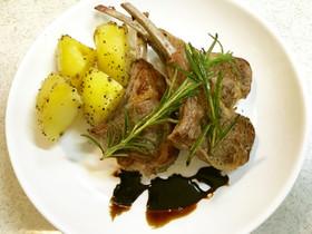 ★ラム肉ステーキ 柔らか美味 バルサミコ