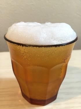 子どもビール☆泡を楽しむ炭酸水