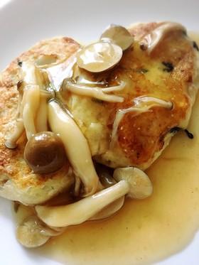 肉卵なし♩和風あんかけ 豆腐ハンバーグ