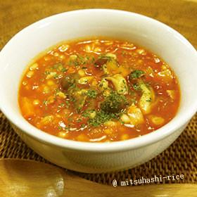 新食感!食べるもち麦スープ