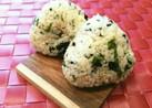 簡単♡韓国海苔わさびチーズおにぎり♡