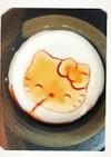 五秒で完成キティちゃん豆腐